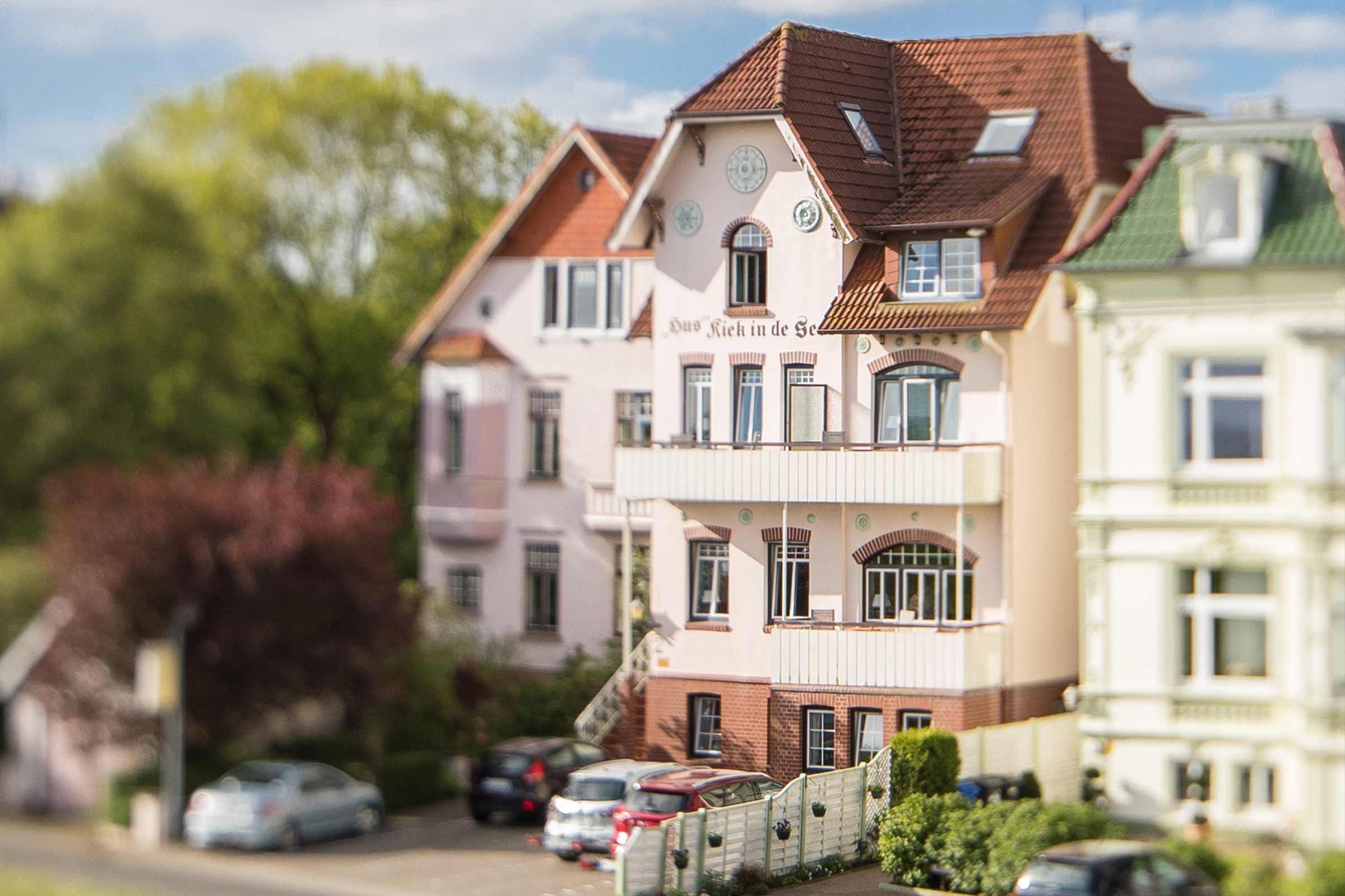 Hotel Hus Kiek in de See Cuxhaven Dachgeschoss