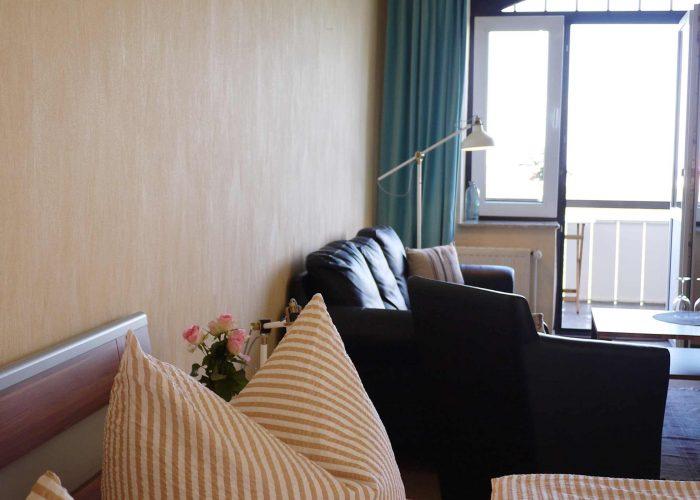 Hotel Hus Kiek in de See Cuxhaven Doppelzimmer Classic Balkon