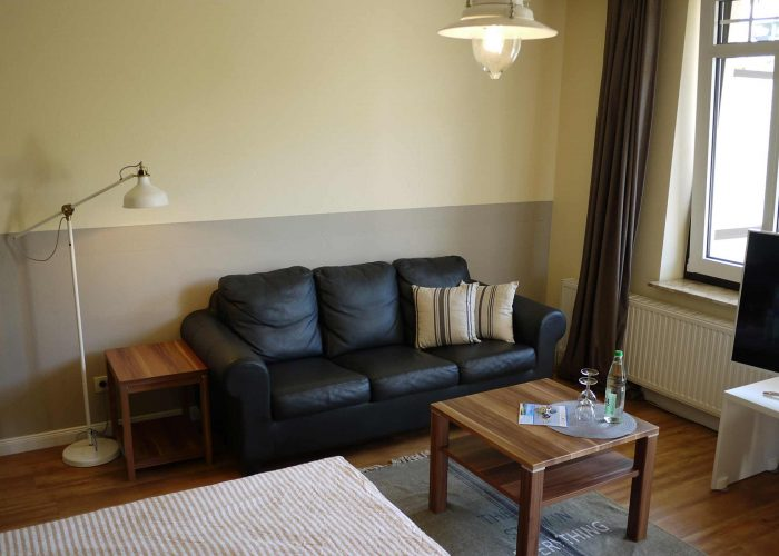 Hotel Hus Kiek in de See Cuxhaven Doppelzimmer Classic Couch
