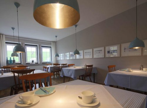 Hotel Hus Kiek in de See Cuxhaven Fruehstuecksraum
