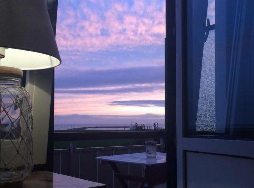 Hotel Hus Kiek in de See Cuxhaven Aussicht