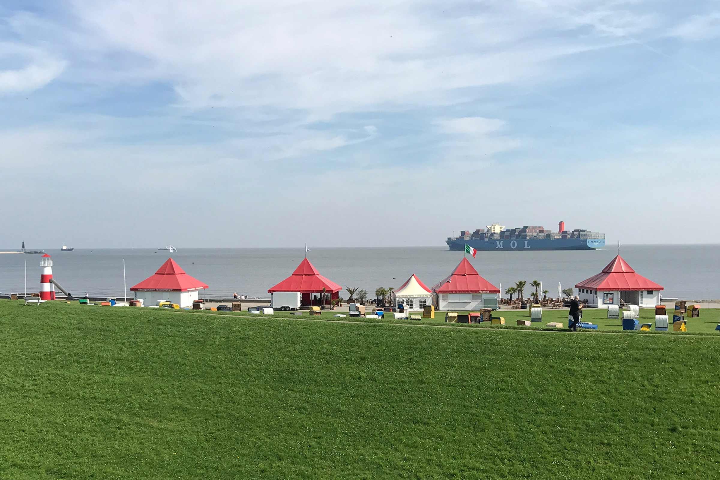 Villa Caldera Cuxhaven Meer
