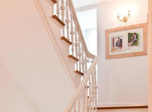 Villa Caldera Cuxhaven Staircase