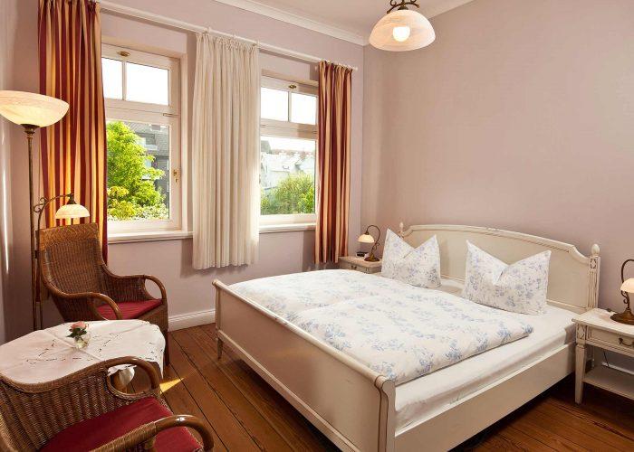 Villa Caldera Cuxhaven Doppelzimmer