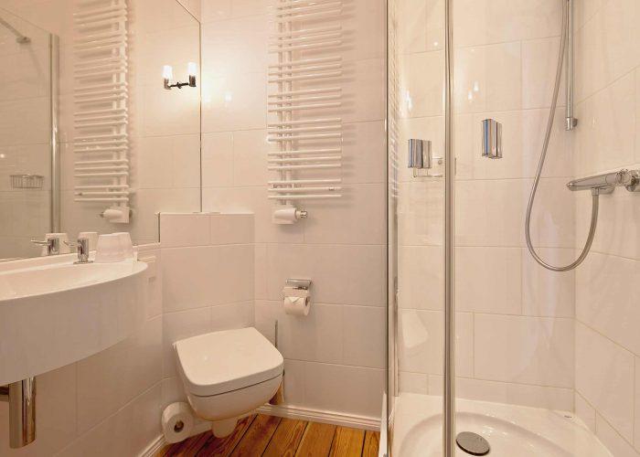 Villa Caldera Cuxhaven Doppelzimmer Classic Bad