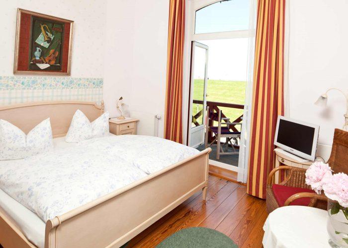 Villa Caldera Cuxhaven Doppelzimmer Seeblick