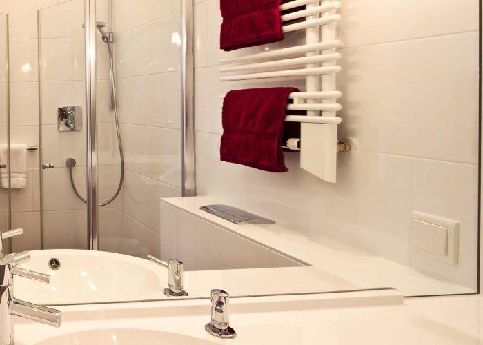 Villa Caldera Cuxhaven Einzelzimmer Bad