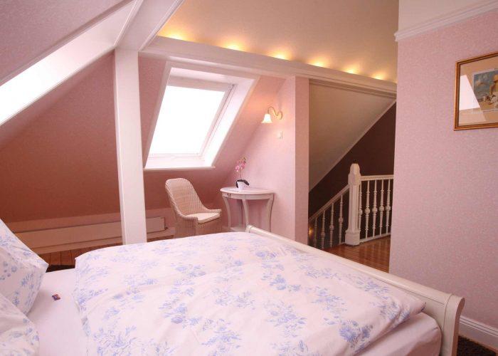 Villa Caldera Cuxhaven Juniorsuite Schlafzimmer