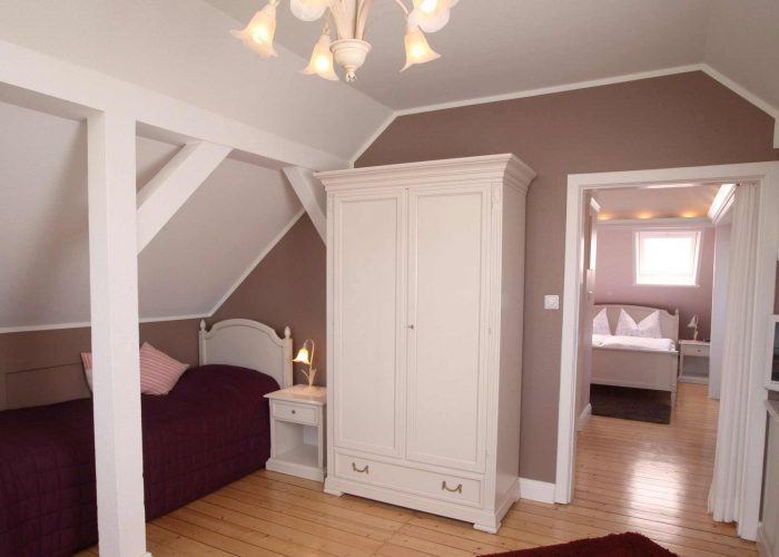 Villa Caldera Cuxhaven Juniorsuite Wohnzimmer